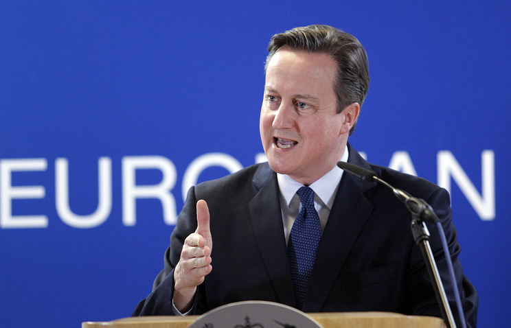 Премьер Британии Кэмерон о референдуме по ЕС: уйти нельзя оставаться