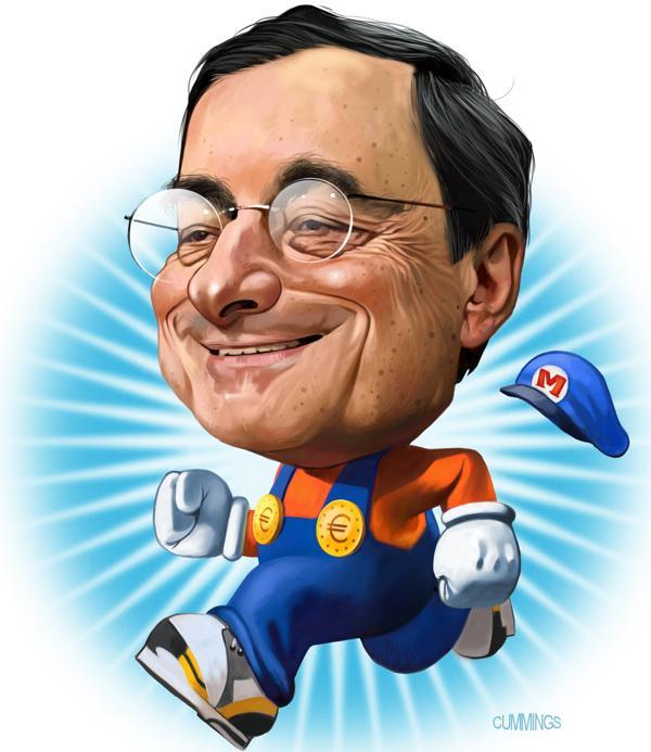 Забег главы ЕЦБ Марио Драги: вперед-назад за лиловыми кроликами